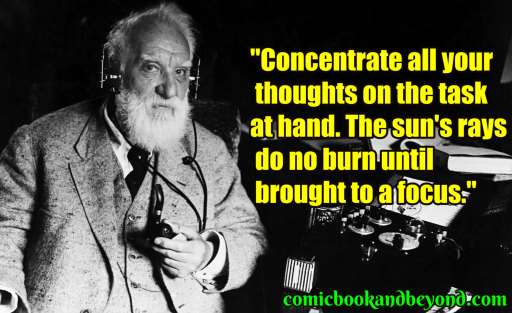 Alexander Graham Bell best quotes