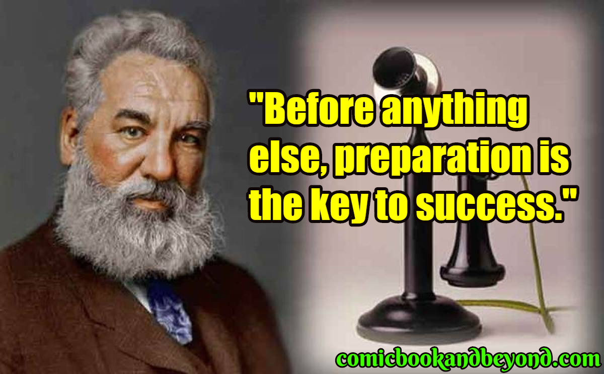 100+ Alexander Graham Bell Quotes Prove That Invention Is ...