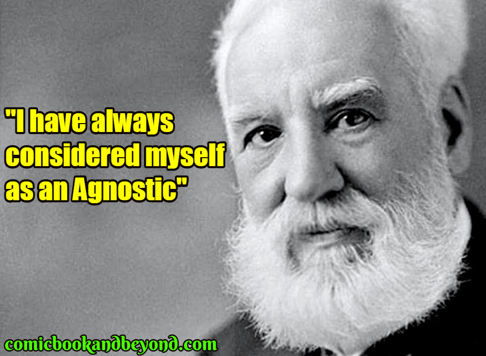 Alexander Graham Bell saying