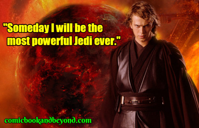 Anakin Skywalker famous quotes