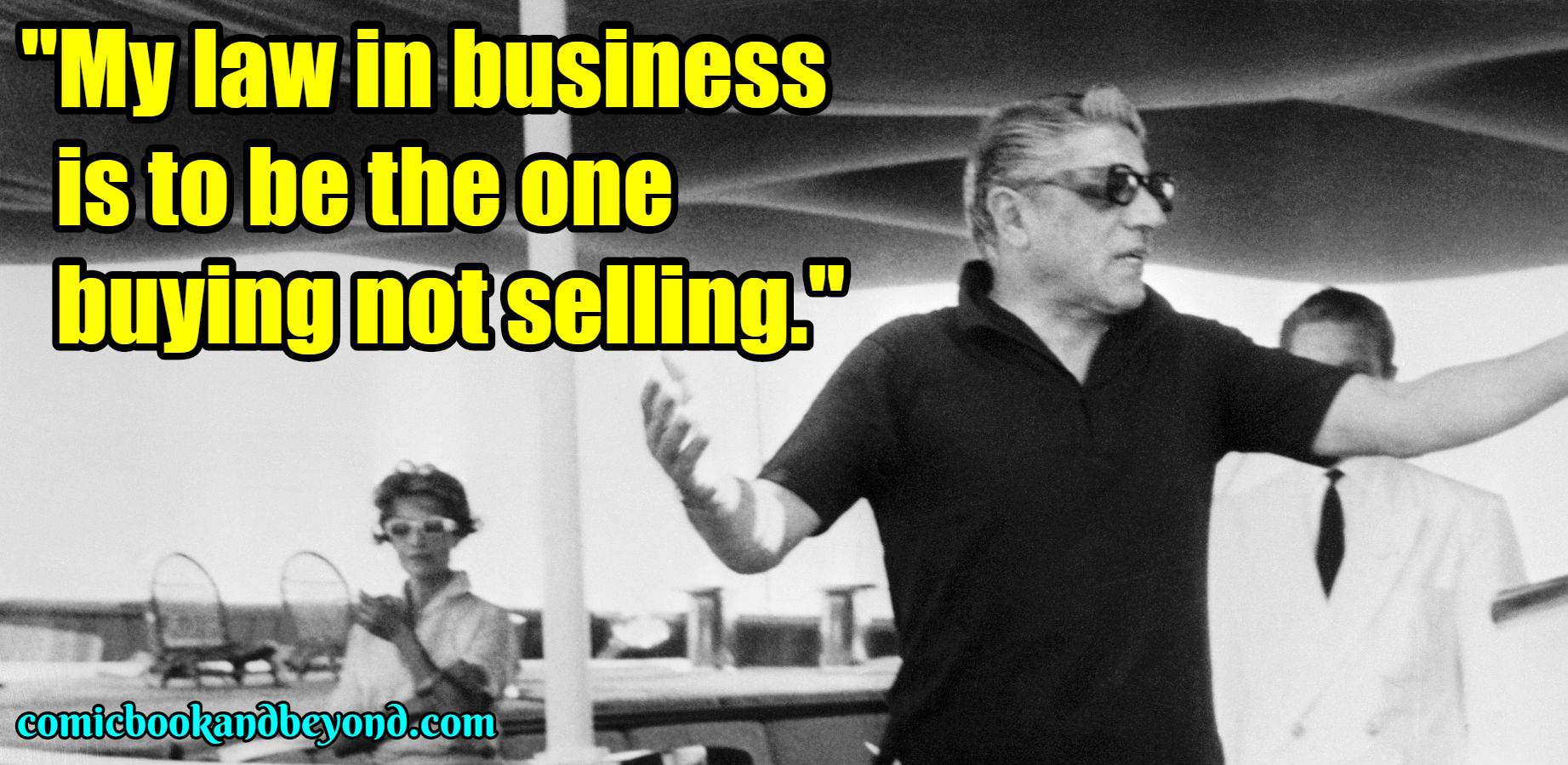 100+ Aristotle Onassis Quotes that will make you the best Business