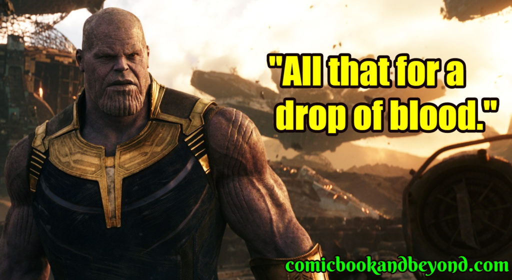Avengers Infinity War quotes