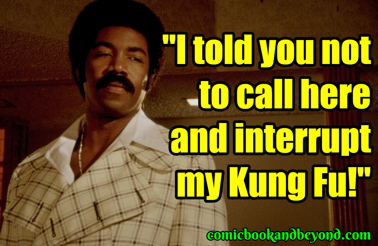 Black Dynamite Popular Quotes