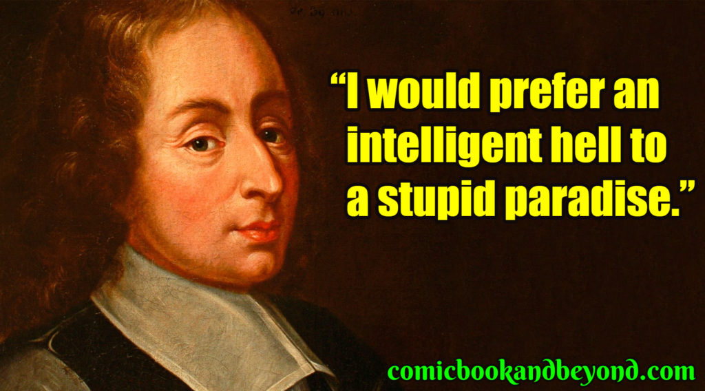 Blaise Pascal best quotes