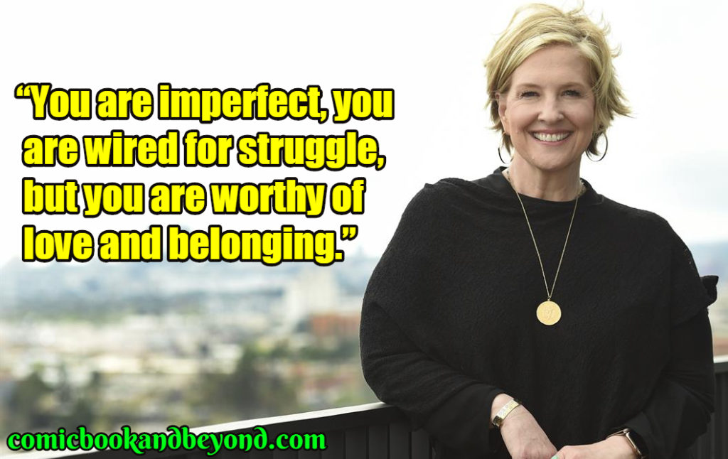 Brene Brown famous quotes
