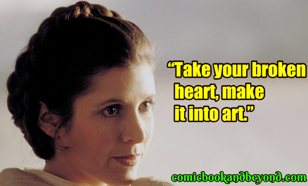 Carrie Fisher quotes