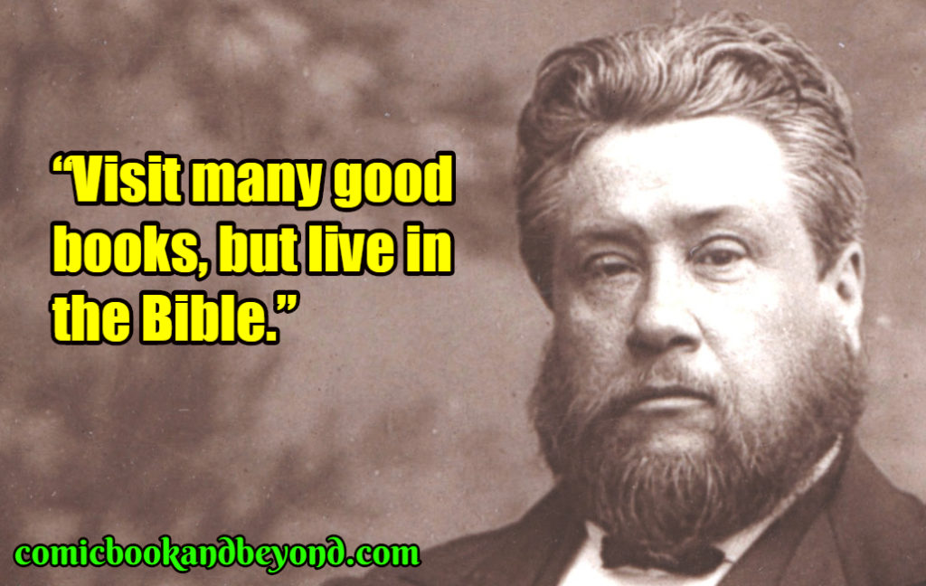 Charles Spurgeon famous quotes