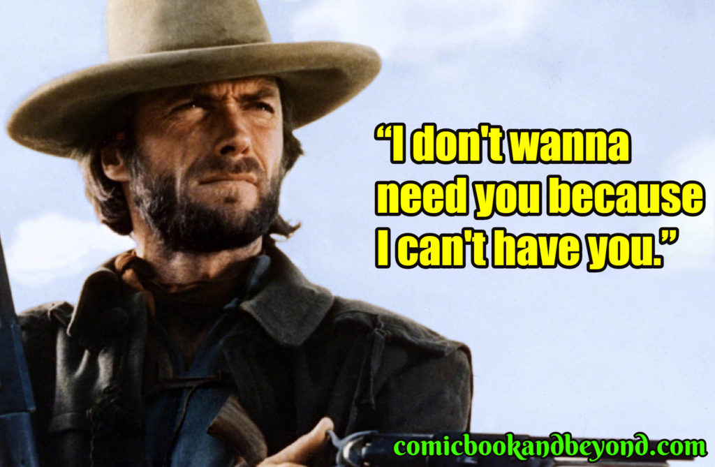 Clint Eastwood popular quotes