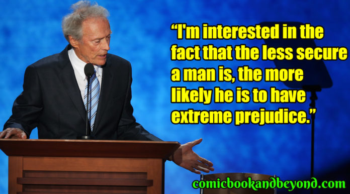 Clint Eastwood saying