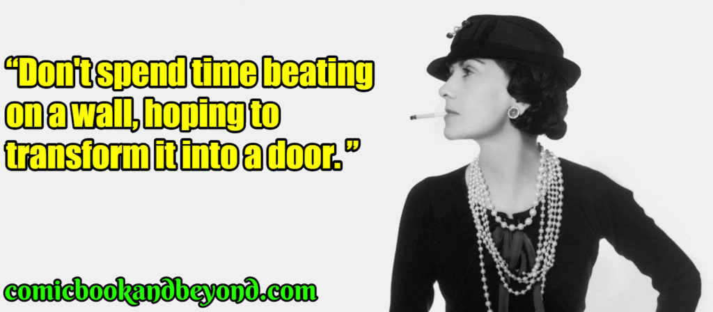 Coco Chanel famous quotes
