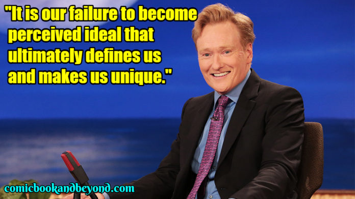 Conan o'brien saying