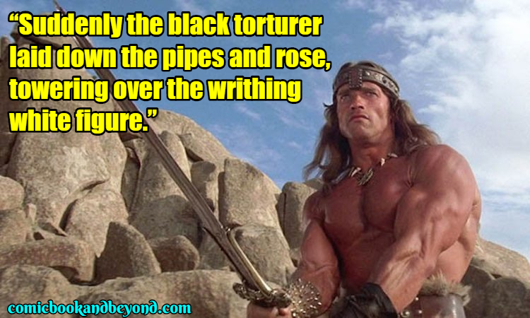 Conan the Barbarian Famous Quotes