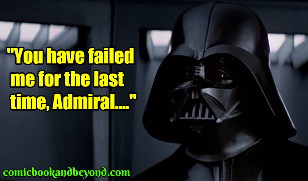 Darth Vader famous quotes