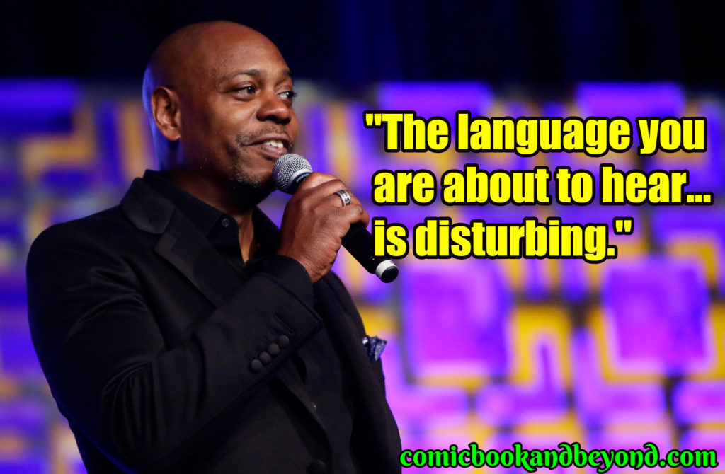 120+ Dave Chappelle Quotes That Will Make Everyone Laugh ...