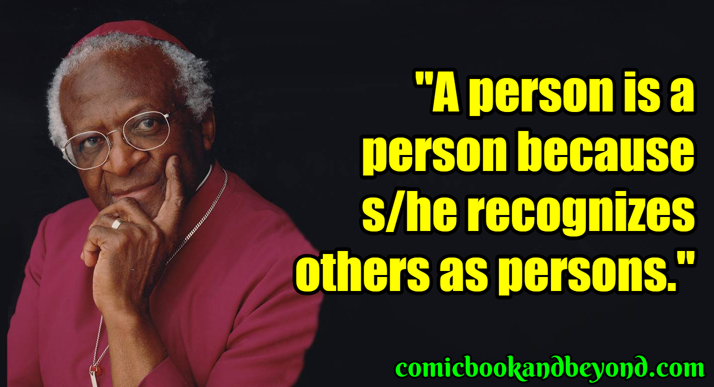 Desmond Tutu Sayings
