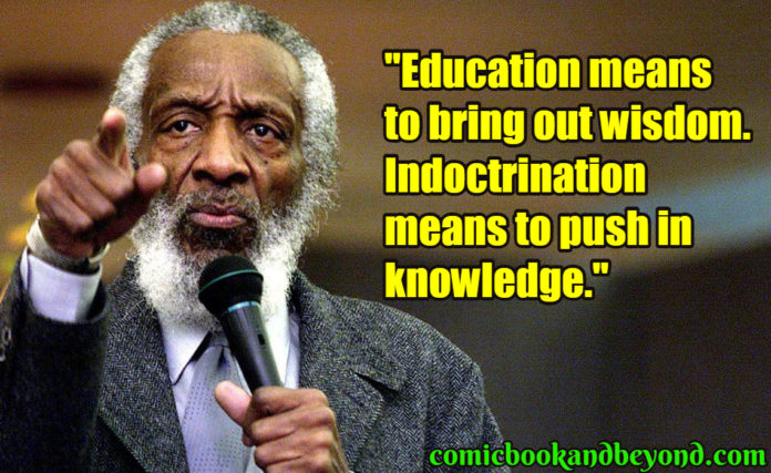Dick Gregory saying