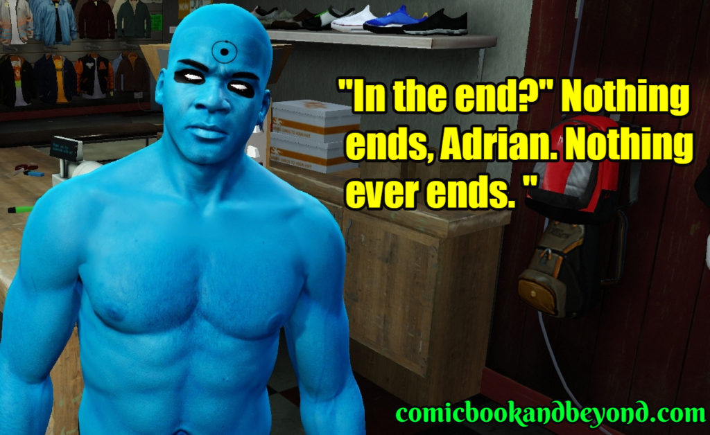 Dr. Manhattan quotes
