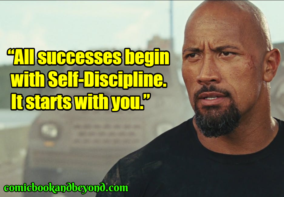 Dwayne Johnson famous quotes