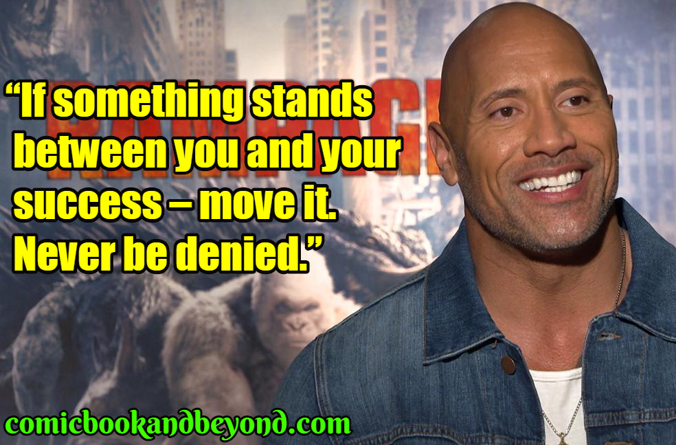 Dwayne Johnson popular quotes