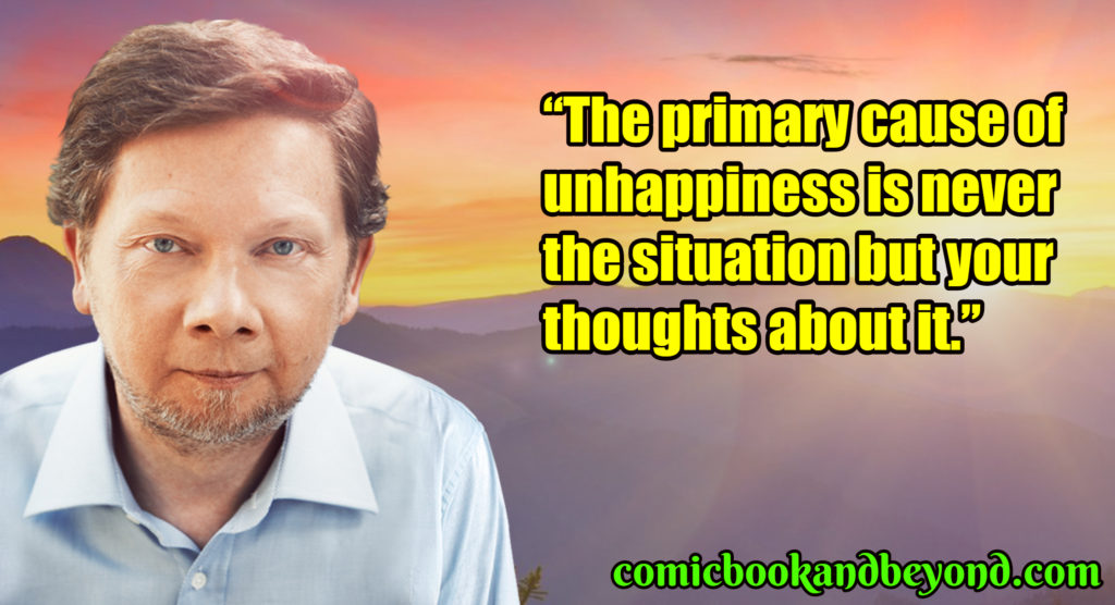 Eckhart Tolle best quotes