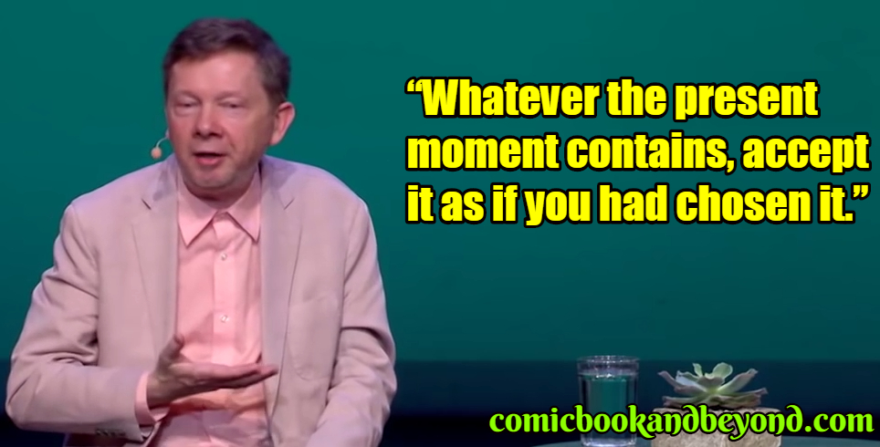 Eckhart Tolle famous quotes