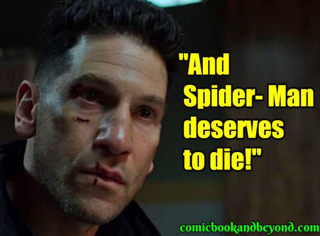 Frank Castle saying