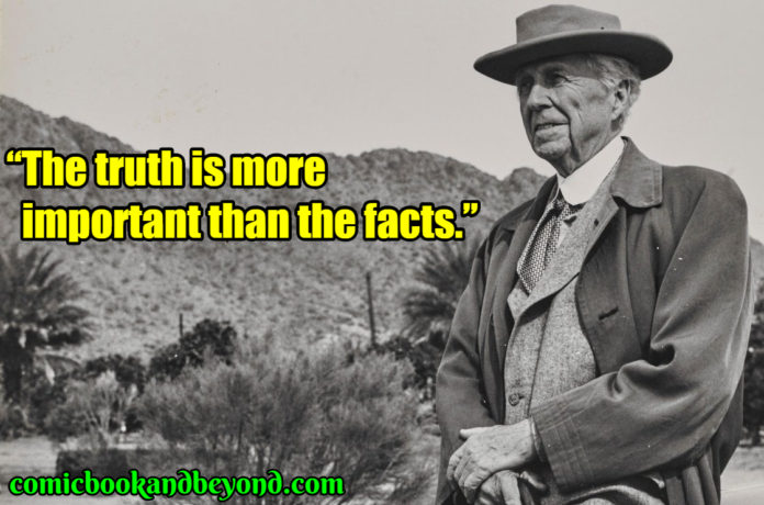 Frank Lloyd Wright famous quotes
