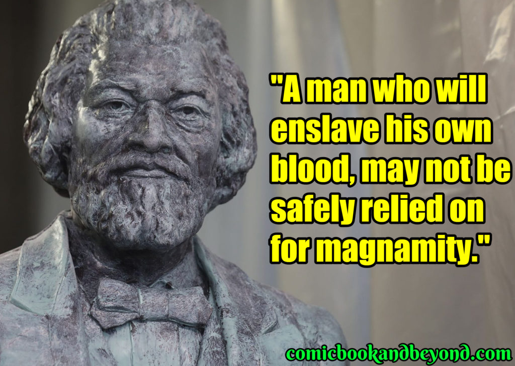 Frederick Douglass best quotes