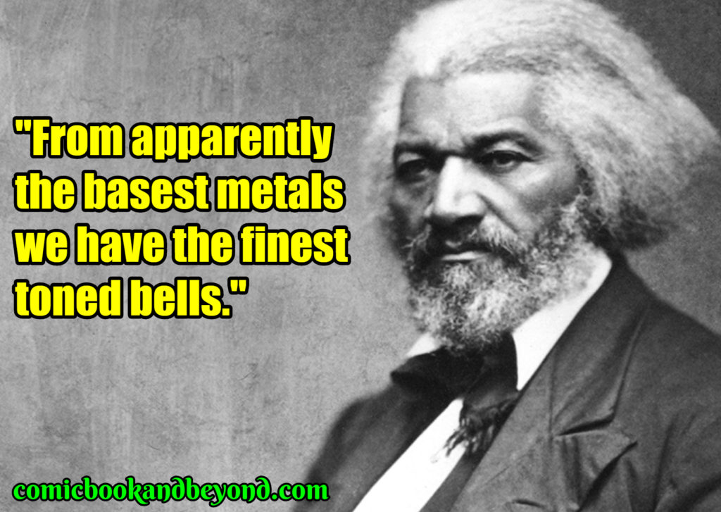 Frederick Douglass popular quotes