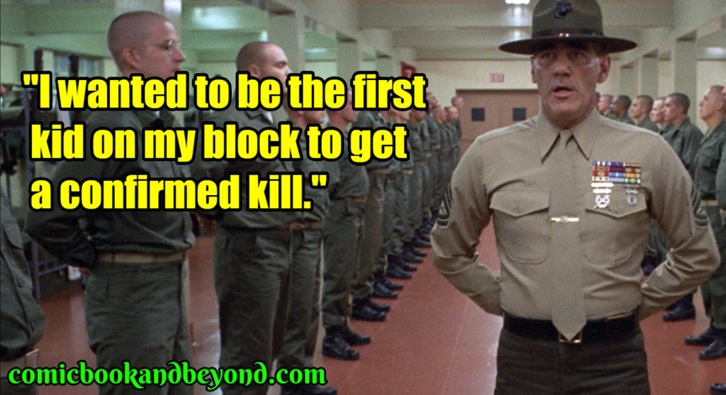 Full Metal Jacket popular quotes