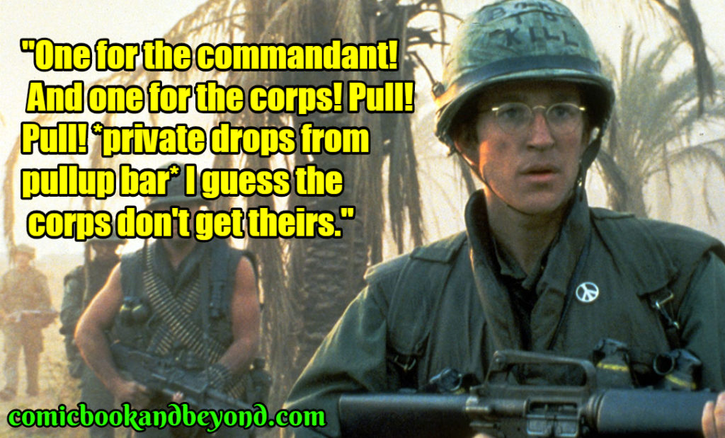 Full Metal Jacket saying