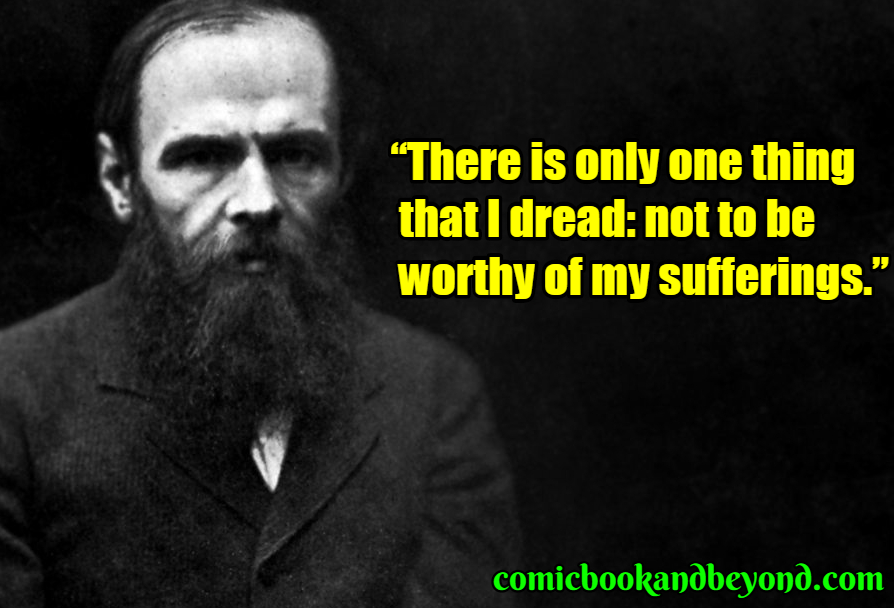 Fyodor Dostoevsky famous quotes