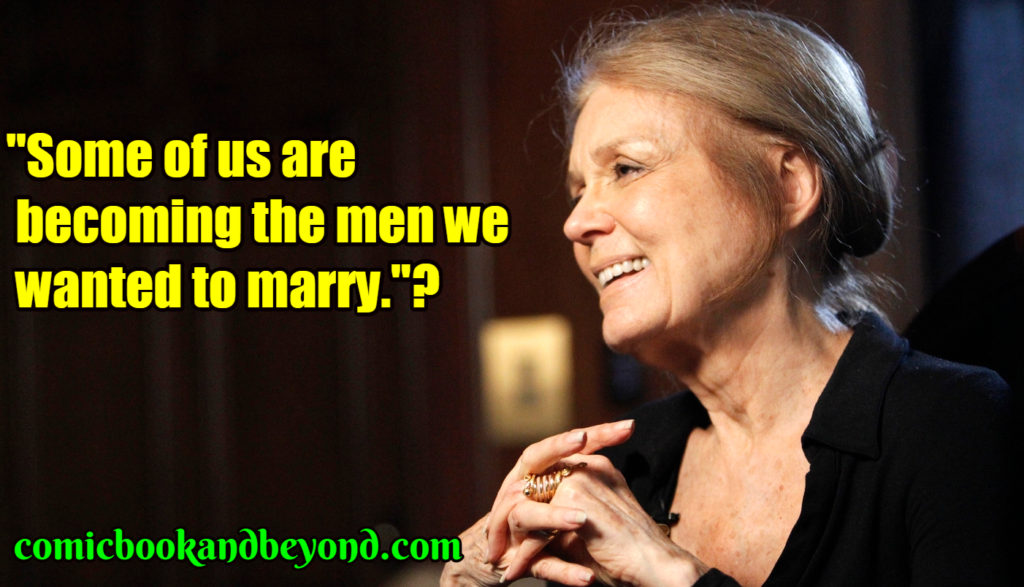 Gloria Steinem best quotes