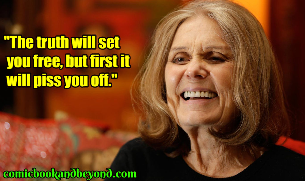 Gloria Steinem famous quotes