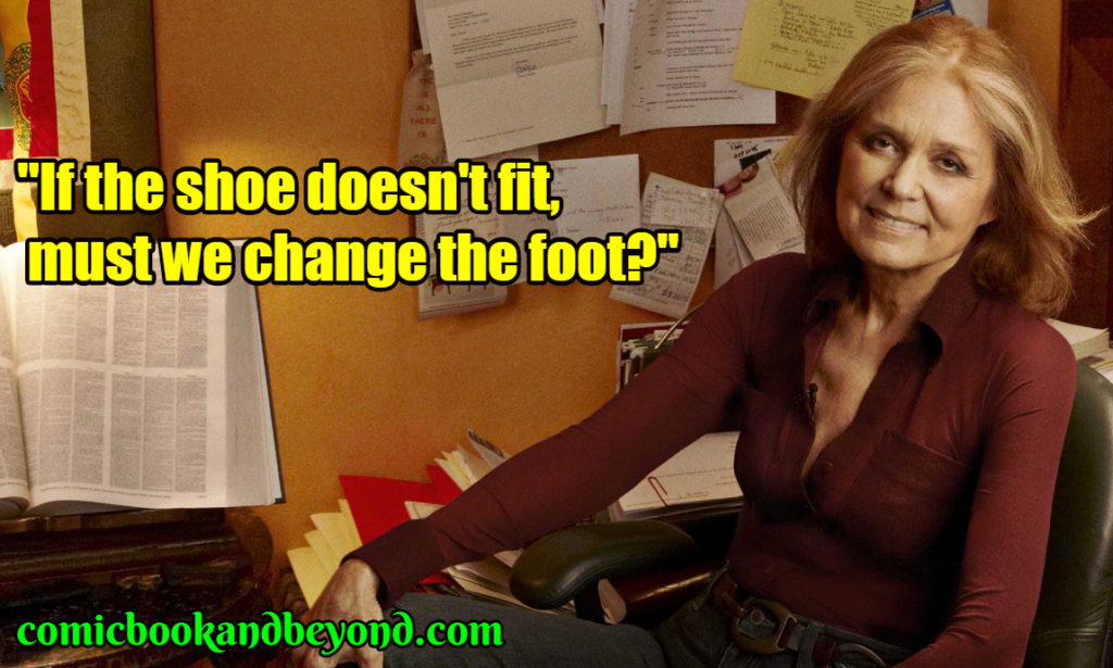 Gloria Steinem popular quotes