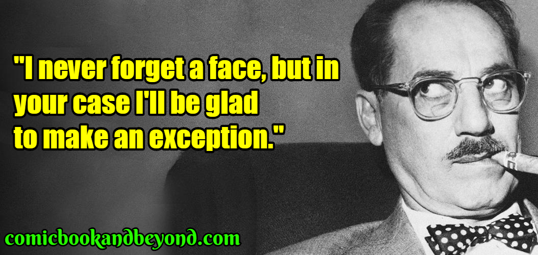 100+ Groucho Marx Quotes Emphasise His Witty Grit And Humor ...