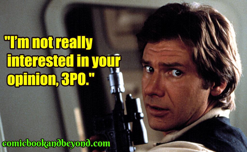 Han Solo best quotes