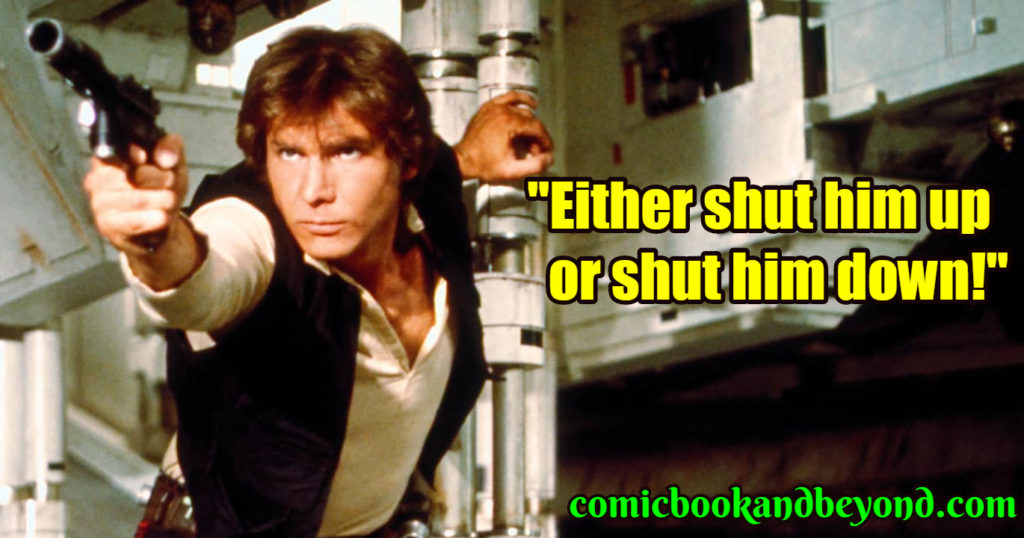 Han Solo popular quotes