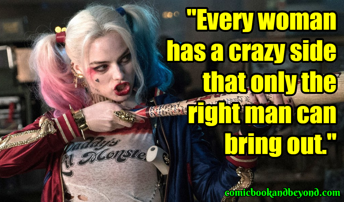 Harley Quinn Best Quotes