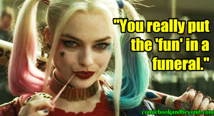 Harley Quinn Famous Quotes