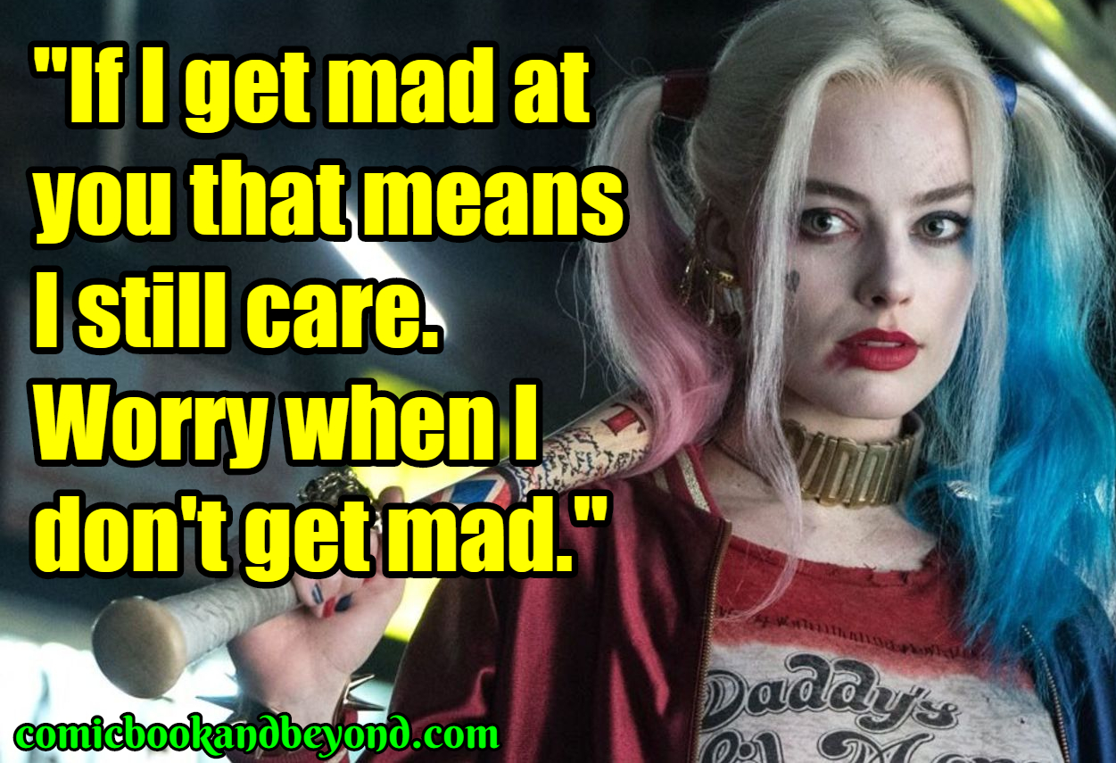 Harley Quinn Popular Quotes