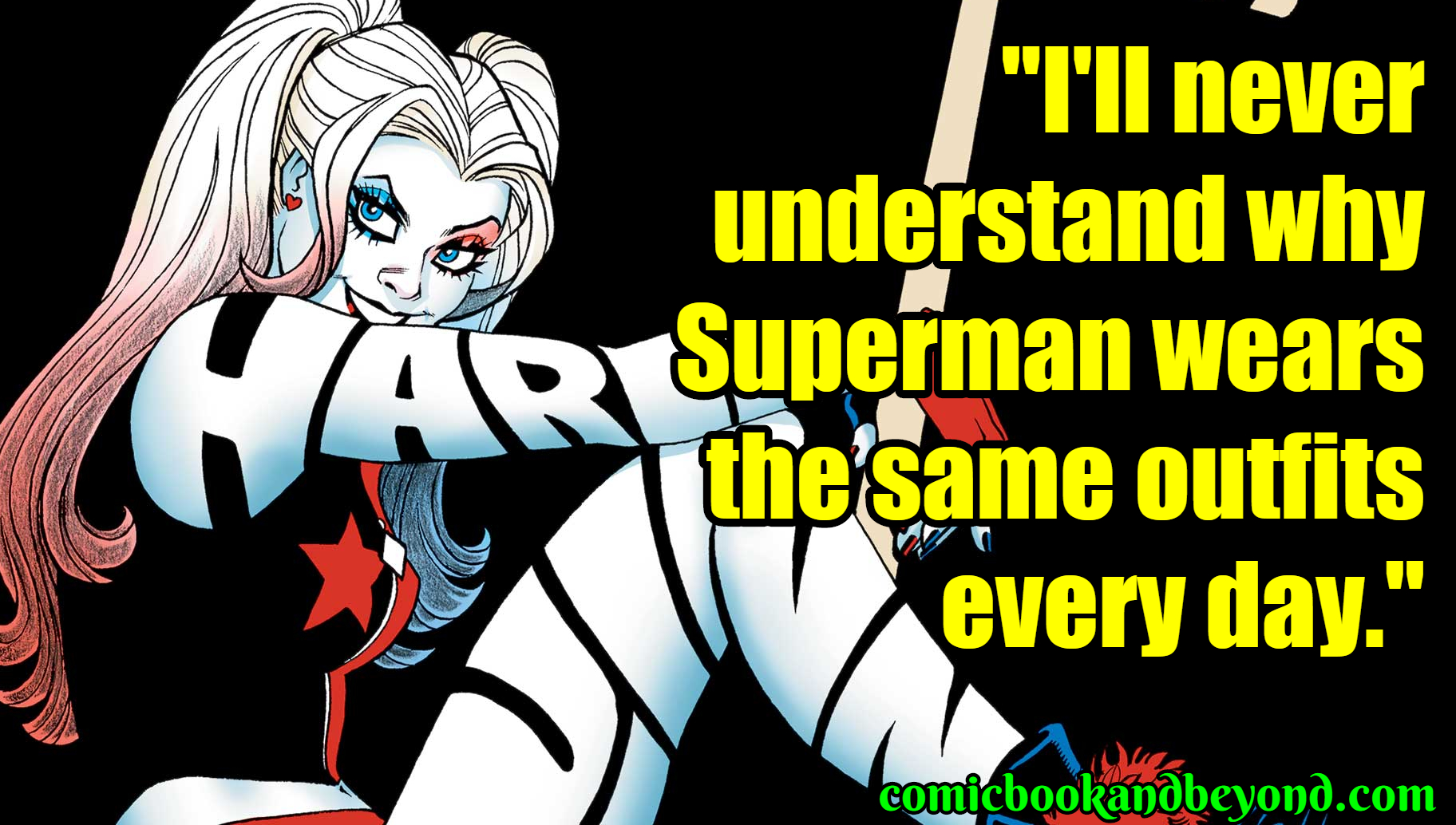 Harley Quinn Sayings