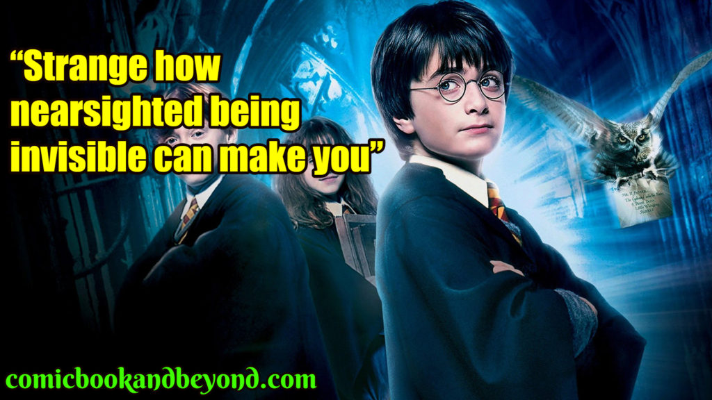 Harry Potter and the Philosopher's Stone best quotes