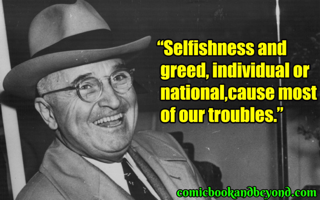 Harry S Truman popular quotes