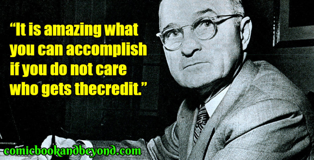 Harry S Truman quotes