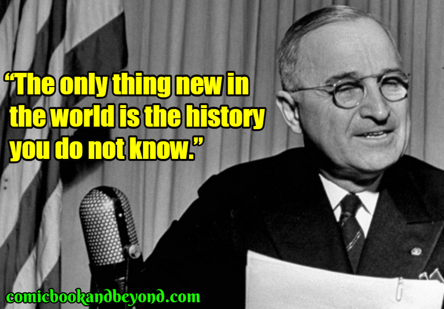Harry S Truman saying