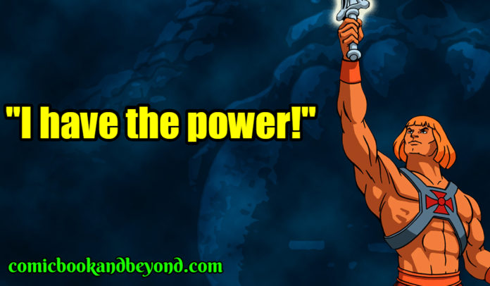 He-Man saying