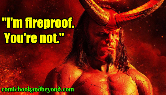 Hellboy best Quotes