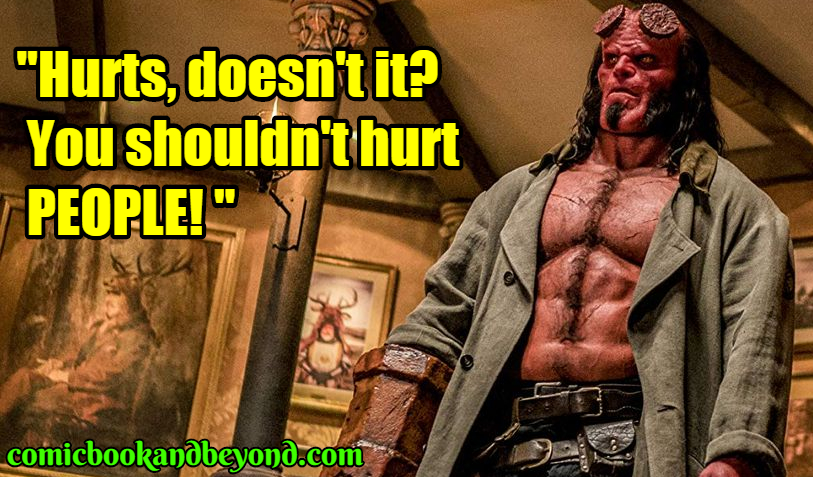 Hellboy famous Quotes
