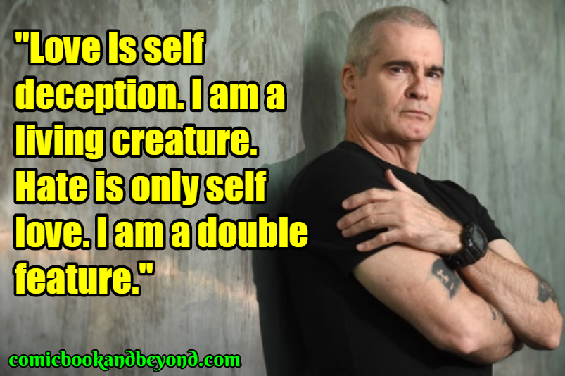 Henry Rollins Sayings